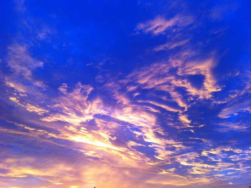 Photo of a Rueda sky taken by Jean Belondrade.